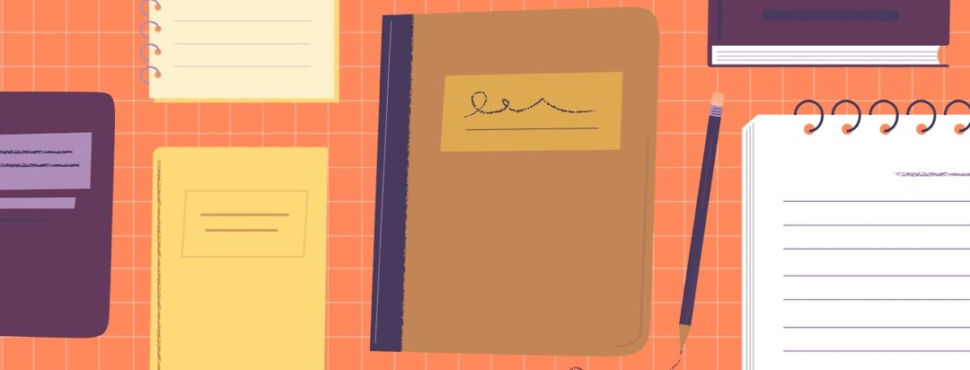 a collection of journals
