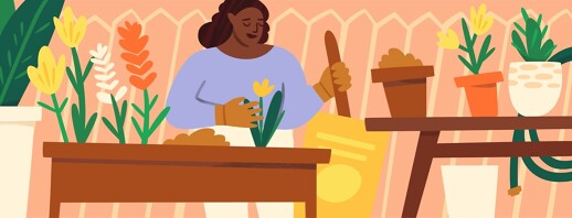Gardening Tips For Self-Care image